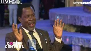 Prophet TB Joshua: Pray Against Interruption Of Democracy In Nigeria