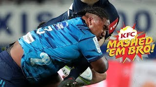 Mashed Em Bro #2 | Blues Rugby Hits & Smashes 2018 - brought to you by KFC