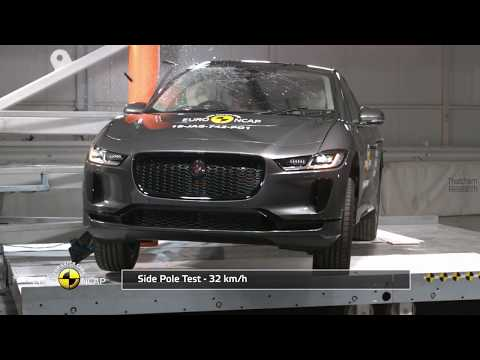 Euro NCAP Crash Test of Jaguar I-PACE