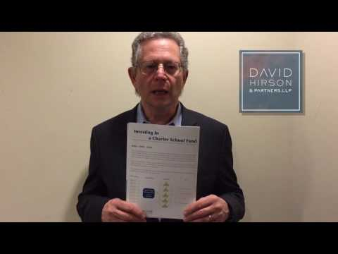 Immigration Lawyer David Hirson Recommends Charter School FUND (EN)