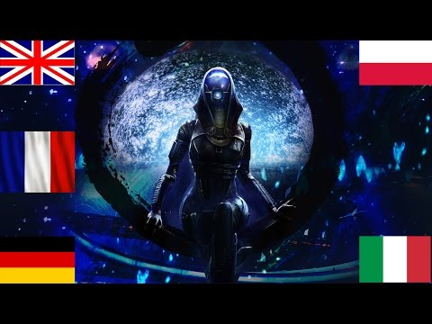 Mass Effect 2 - Tali's voice in English, Polish, Italian, German and French language