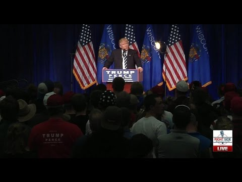 Full Speech: Donald Trump Rally in Eau Claire, WI 11/1/16