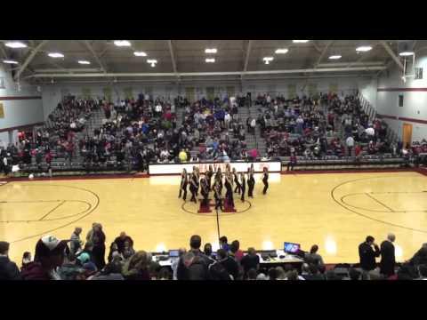 Harvard Crimson Dance Team Basketball Performance - Bang Bang