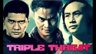 Video Triple Threat : Tiga Jagoan Asia Menghadapi Scott Adkins dan Michael Jai White download MP3, 3GP, MP4, WEBM, AVI, FLV April 2018