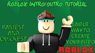 Come fare un Roblox Intro TUTORIAL PC MAC Sony Las Vegas