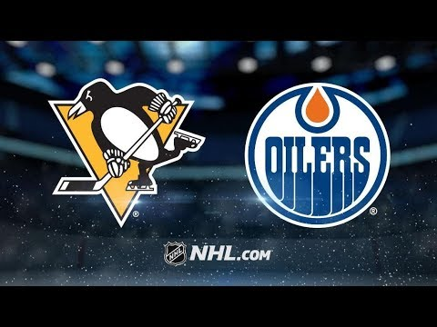 Penguins vs Oilers Highlights | 11/1/17