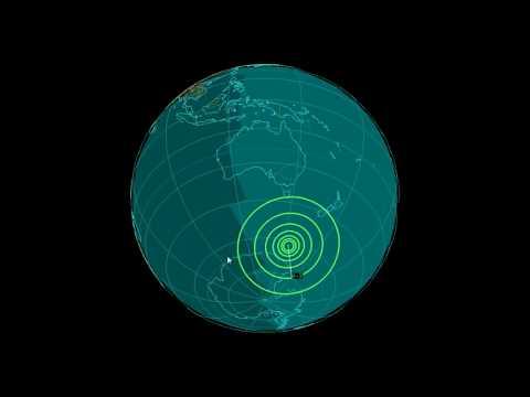 EQ3D ALERT: 10/8/17 - 6.3 magnitude earthquake in the South Pacific Ocean