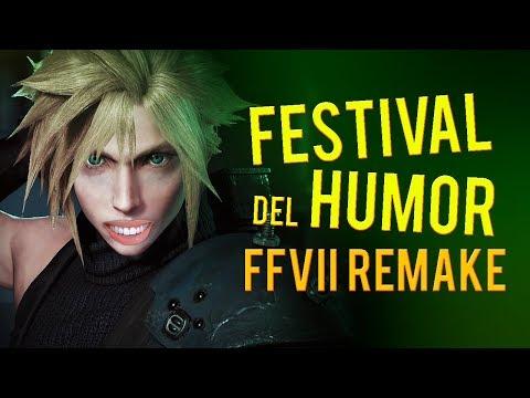 Hablemos de FINAL FANTASY VII REMAKE y el 'Festival del Humor' de SQUARE ENIX