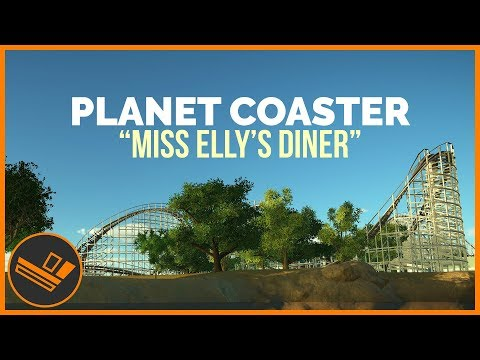 Miss Elly's Diner - PLANET COASTER