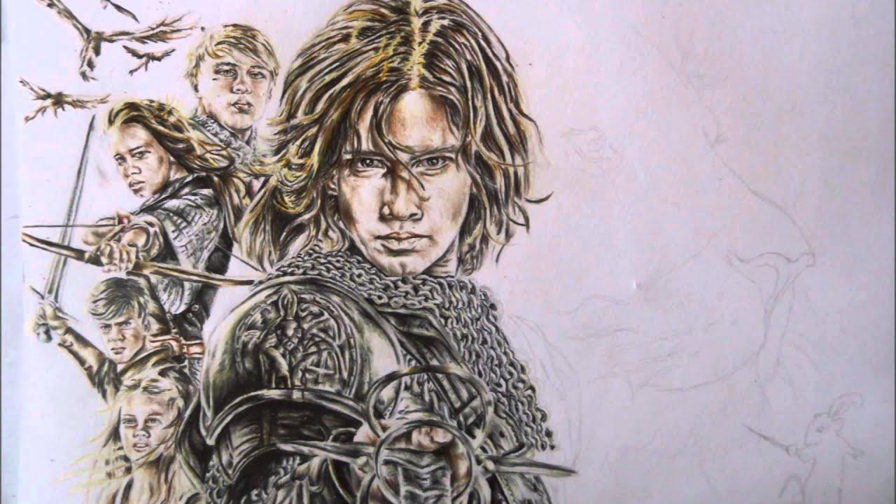 Drawing :Chronicles of Narnia-Prince Caspian - YouTube