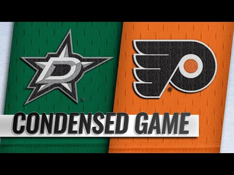 01/10/19 Condensed Game: Stars @ Flyers