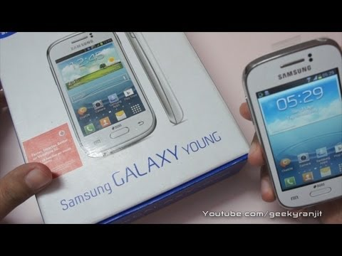 Samsung Galaxy Young Budget Android Unboxing & Overview