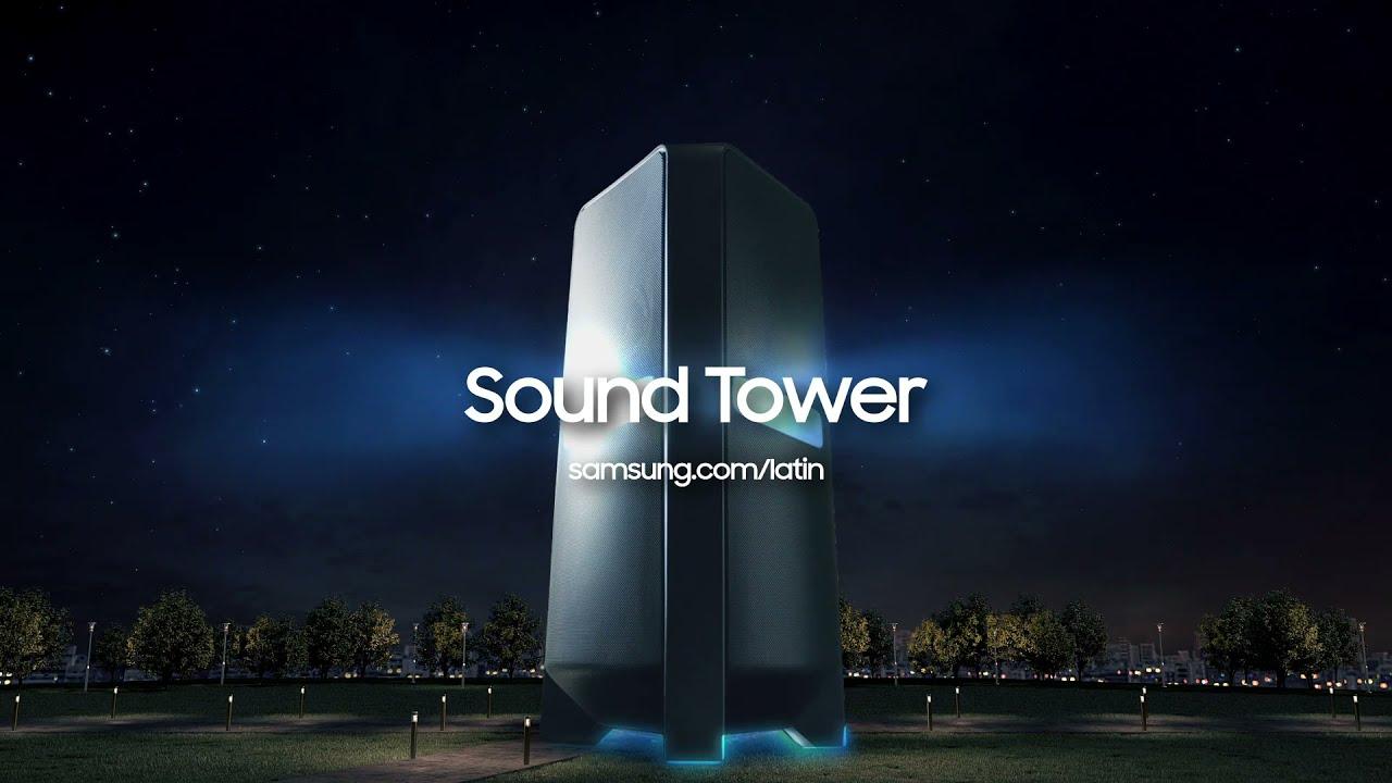 Sound Tower: impresiona a todos con el sonido de tus fiestas en casa | Samsung