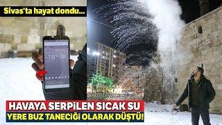 Sivas'ta Termometreler Eksi 18 Dereceyi Gösterdi