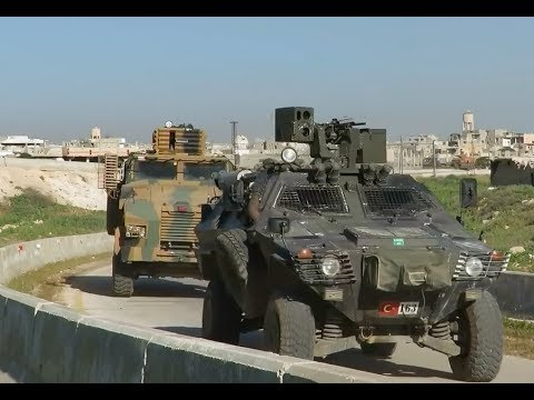 """Turkish Army set up an """"observation"""" base in Northern Hama 
