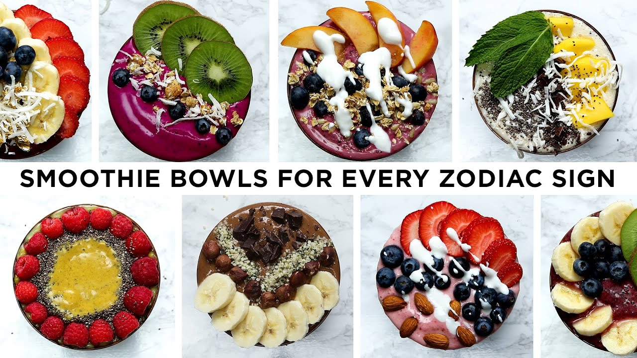 Here's What Smoothie Bowl You Should Make Based On Your Zodiac Sign