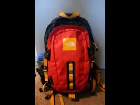 b0c36d51c41e The North Face Hot Shot Waterproof Backpack - YouTube