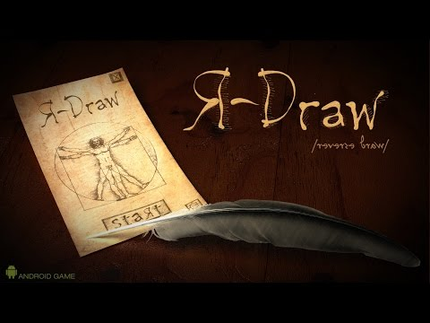 R-Draw mobile app game demo and game play.