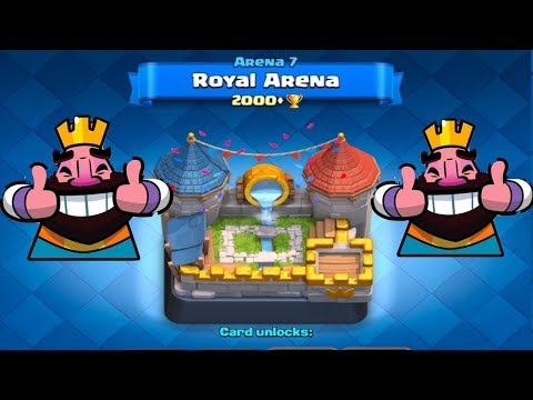 Push to Legendary Arena Ep. 15 - HALF WAY DONE!!! IN THE ROYAL ARENA!