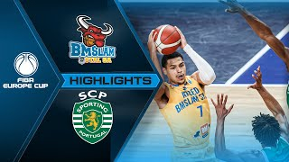 Arged BMSLAM Stal - Sporting CP | Highlights - FIBA Europe Cup 2020-21
