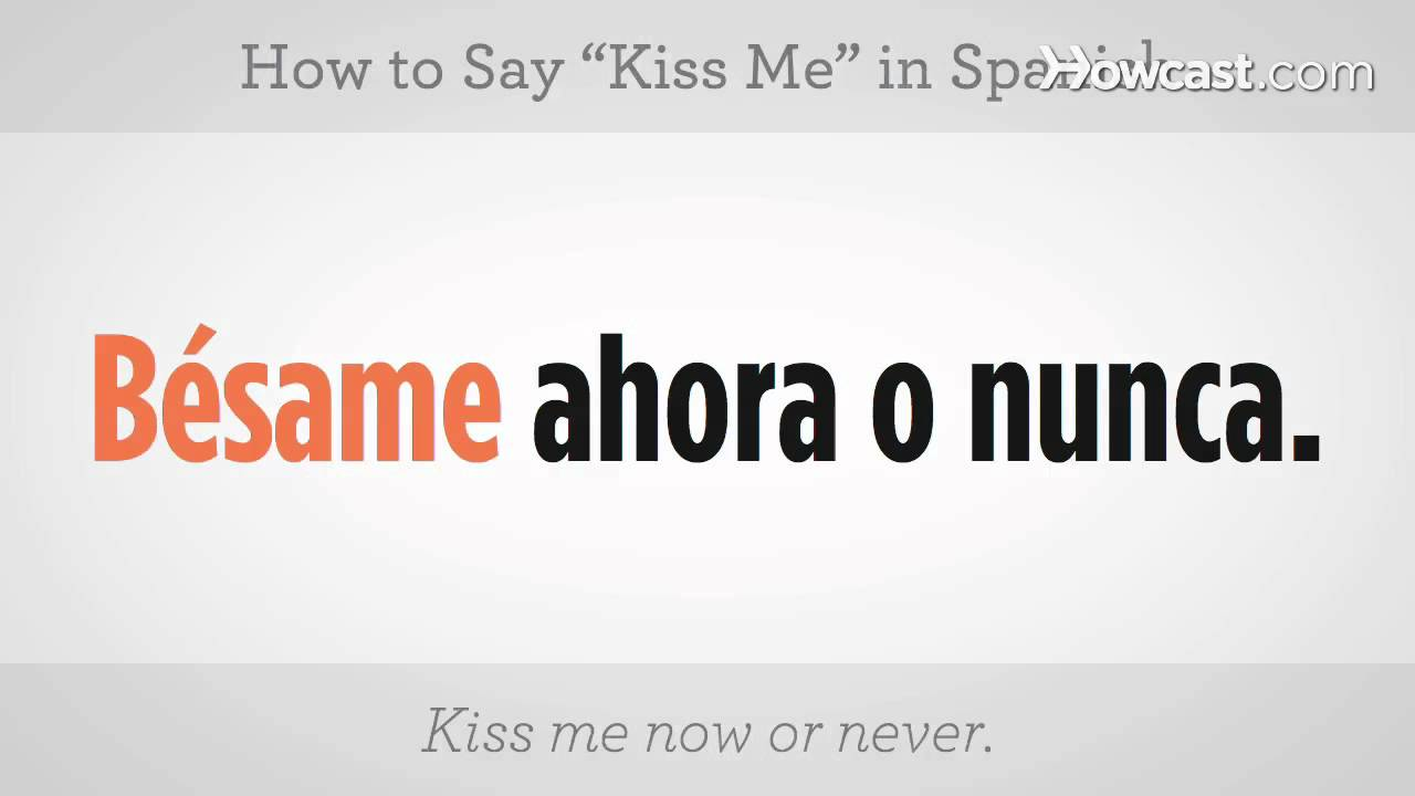 How Say Make Me Spanish
