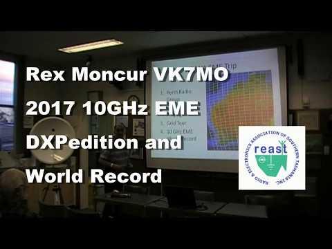 VK7MO 10GHz EME Grid Square DXPedition 2017