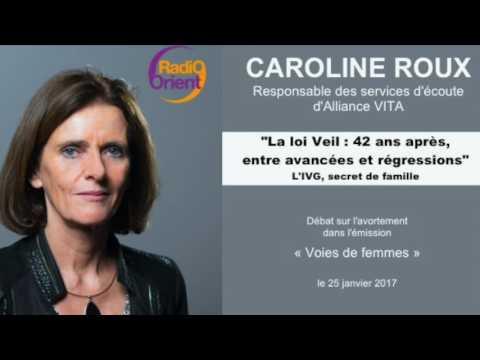 L'IVG, secret de famille : Caroline Roux sur Radio Orient