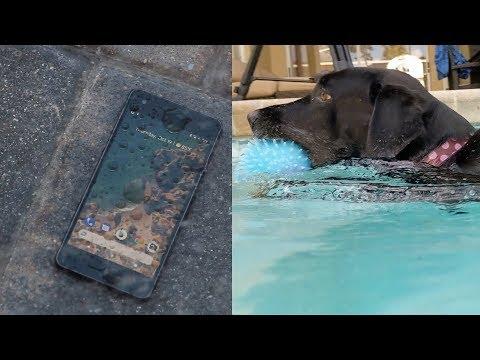 Google Pixel 2 Water Test + Underwater Video - Is it ACTUALLY Waterproof
