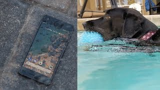 Google Pixel 2 Water Test + Underwater Video - Is it ACTUALLY Waterproof