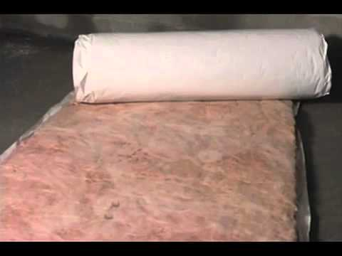 Owens corning insulating floors basements and crawl for Basement wall insulation blanket