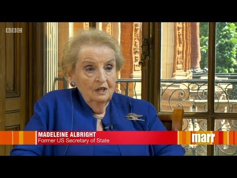 Madeleine Albright, Fascism:A Warning: Trump Is The Most Undemocratic President.The Andrew Marr Show