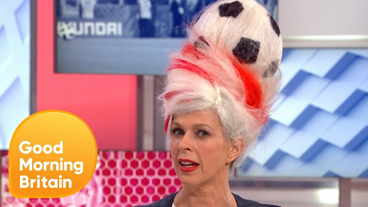 Kate's World Cup Hair Makeover! | Good Morning Britain