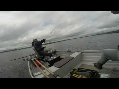 Loch Leven Wild Brown Trout: Boat Fishing