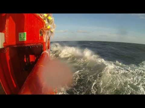 Sea trials of offshore vessel Gemsbok