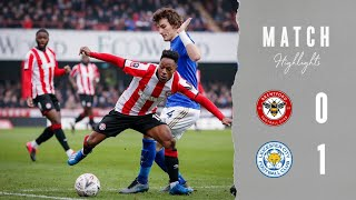 Match Highlights: Brentford 0 Leicester City 1