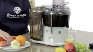 Sacale el jugo al extractor de jugos power juicer ultimate AntiDiary