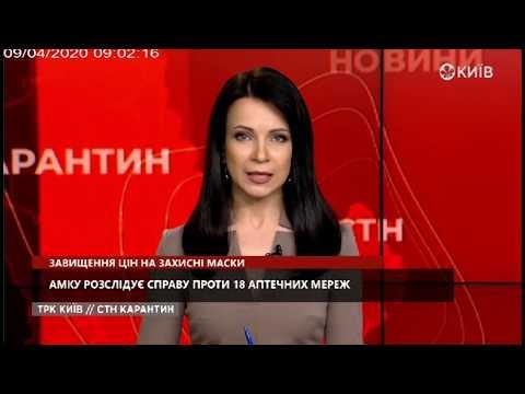 Телеканал Київ: Завищення цін на захисні маски