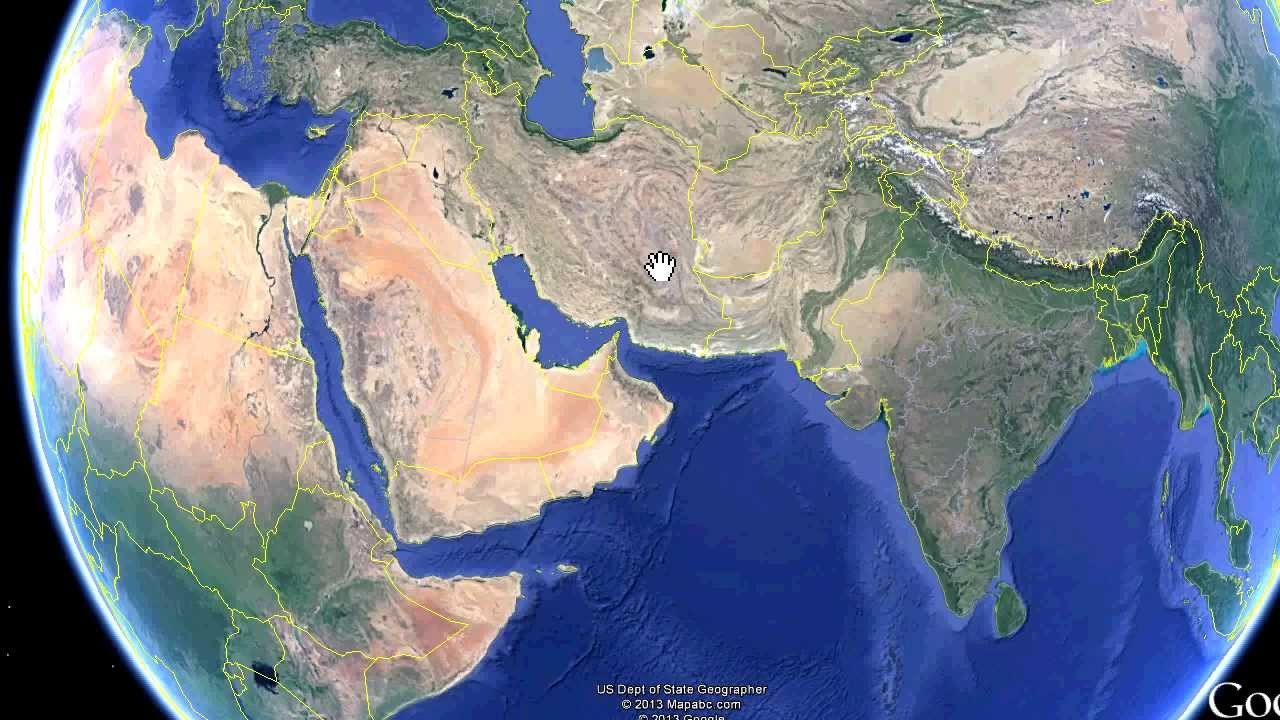 Physical Middle East Map%0A Memorize Middle East Countries in Less than   Minutes with