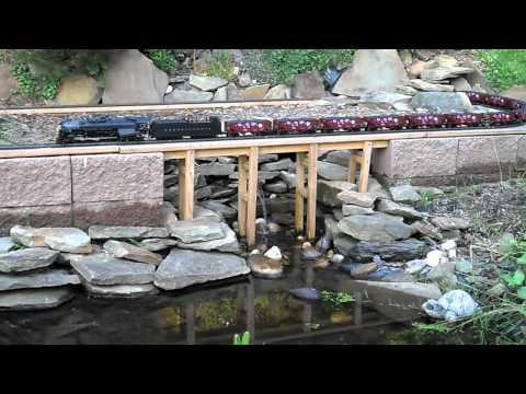 O Scale Garden Railroad – Lionel Legacy Pennsylvania 2-10-4 J1a Texas