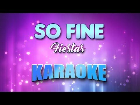 So Fine - Fiestas (Karaoke version with Lyrics)
