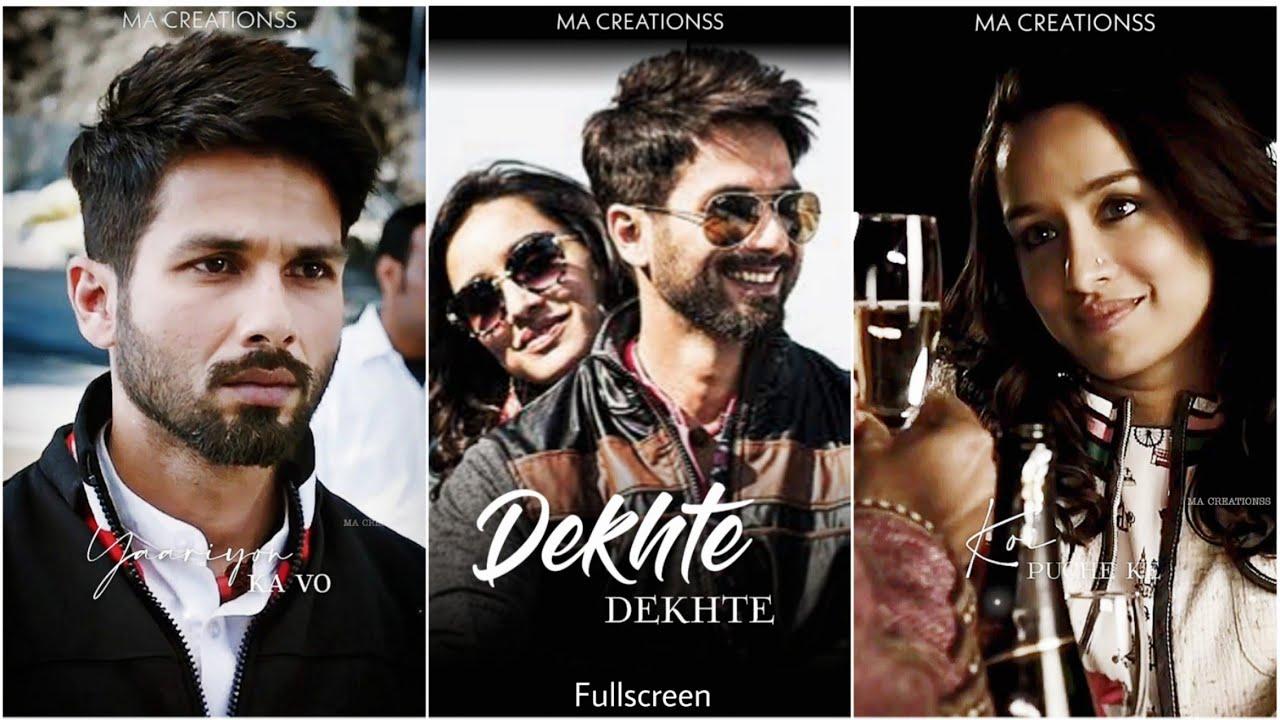 Dekhte Dekhte fullscreen whatsapp status | Atif Aslam Songs | Sad Song Status | Dekhte Dekhte Status