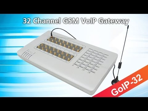 32 port for 32 sim card gsm voip gateway goip 32 with IMEI changer support sim server