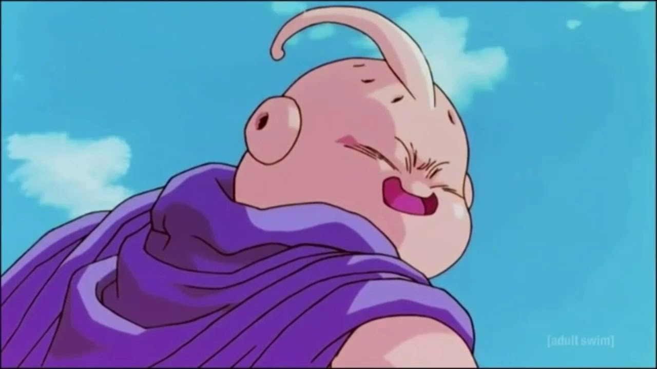 Goku leaves and Majin Buu kills babidi (DBZkai)
