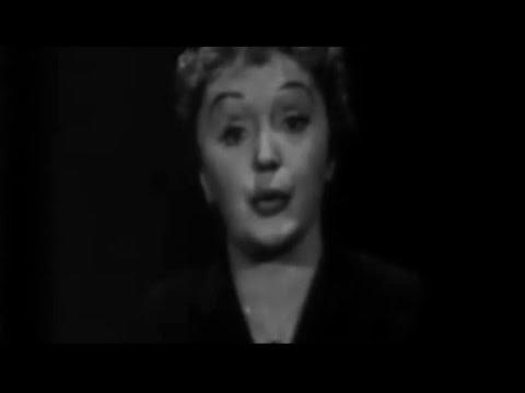Édith Piaf - La Goualante Du Pauvre Jean (Live Chrysler Festival 1957)