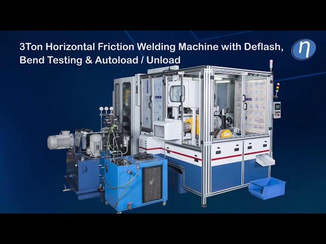 3Ton Friction Welding Machine with Deflash