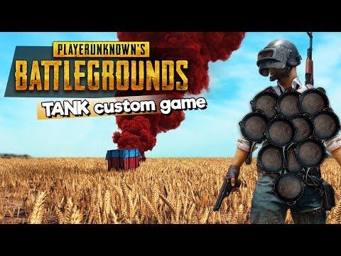 TANK CUSTOM GAME -  csak pisztoly és minden heal + páncél és sisak maxon