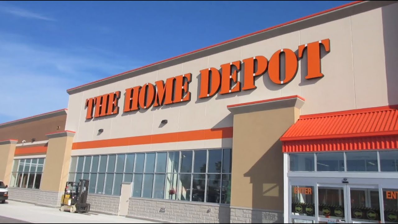 Home depot store opening brampton west location youtube for Shop home depot