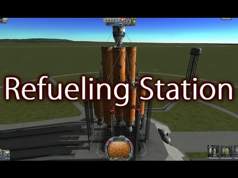Kerbal Space Program - Refueling Station Launch