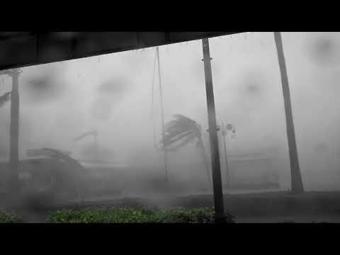 Hurricane Irma DEVASTATES Naples, FL 150 mph gusts!