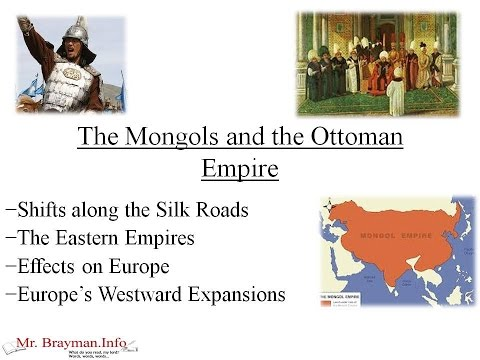 The Mongols and the Early Ottoman Empire